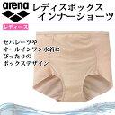 アリーナ インナーショーツ レディース 水泳 ボックス 女性用 ARN2644 arena