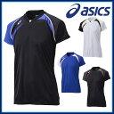 ネコポス アシックス (asics) ゲームシャツHS XW1318バレーボール ユニホーム・ゲームシャツ