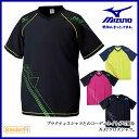 MIZUNO (ミズノ) バレーボール ウエア V2MC5020 クロスシャツ 半袖シャツ 【ユニセックス】