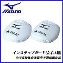 ミズノ MIZUNO インステップガード 高校生用 左右1組/空手 23JHA60201 空手防具小道具