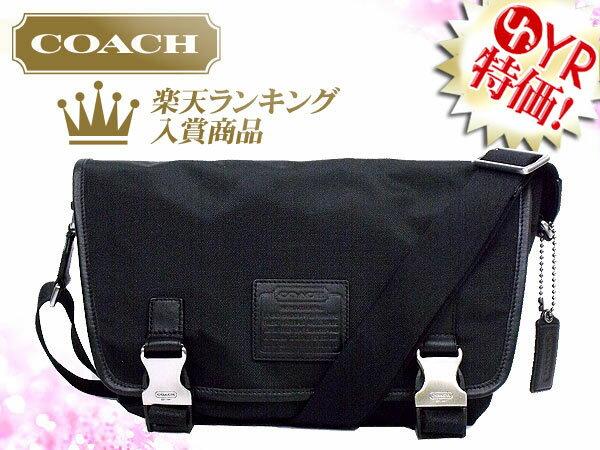 【COACH】コーチ バッグ(ボストンバッグ)F70504 70504 ブラック ボイジャー ナイロン ジム バッグ アウトレット品