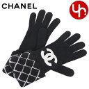 シャネル CHANEL 小物 手袋 A77552 ブラック 特別送料無料 ブリティッシュ アップリケCC 手袋レディース ブランド 通販 2020 母の日 あす楽