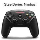 【 送料無料 】 SteelSeries Nimbus ワイヤレスゲームコントローラ ブラック 69070 Apple製デバイス対応