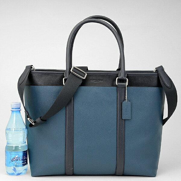 9d61e8c39a2d コーチ COACH メンズ トート バッグ 57568 NINGT(デニム×ミッドナイト) デイリーユースに便利なビジネストートバッグ