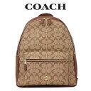 コーチ COACH レディース バッグ バックパック リュックサック 58314 IME74(カーキ×サドル2)