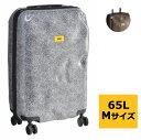 【2018Christmas SALE】クラッシュバゲージ スーツケース CRASH BAGGAGE バッグ SURFACE M 65L キャリーバッグ CB122-0001