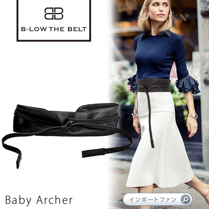サッシュベルト Baby Archer B-low the belt ビーローザベルト セレブ ファッション 本革 レザー 【あす楽】 【ポイント最大41倍!楽天スーパーSALE】