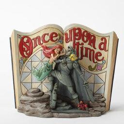 ジムショア アリエルとセバスチャンとフランダ— 海の下で夢見てる リトルマーメイド ディズニー 4031484 Undersea Dreaming-Little Mermaid Storybook Figurine JimShore □