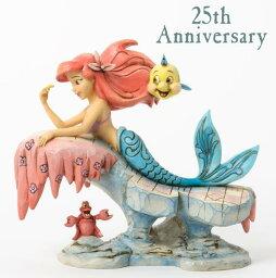 ジムショア アリエルとフランダ—とセバスチャン 海の下で夢見てる 25周年記念作品 リトルマーメイド ディズニー 4037501 Dreaming Under The Sea-The Little Mermaid 25th Anniversary Figurine JimShore □