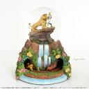 ディズニー ライオンキング シンバ ナラ ラフィキ プンバ ティモン ミュージカル グリッター グローブ Disney The Lion King Rotating Musical Glitter Globe スノードーム オルゴール □