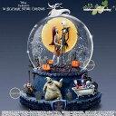 ディズニー ナイトメアー ビフォア クリスマス スノードーム オルゴール The Nightmare Before Christmas Rotating Musical Glitter Globe 【特別予約生産販売品】 【ポイント最大35倍!楽天イーグルス感謝祭】