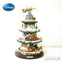ディズニー 踊るプリンセスや王子様がかわいい♪ クリスマスツリー 高さ約40cm □