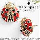Kate Spade ケイトスペード リトル てんとう虫 ピアス little ladybug ladybug stud 正規輸入品 □