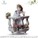 リヤドロ バルコニーの朝 少女 小鳥 花 スペシャルバージョン 01008735 LLADRO MORNING SONG SPECIAL EDITION □