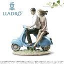 リヤドロ バイクに乗って 01009231 LLADRO RIDING WITH YOU□