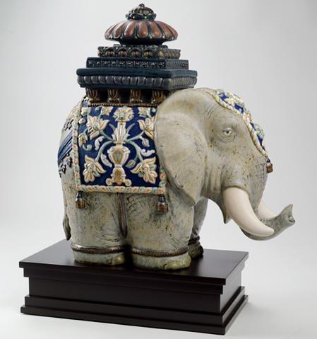 *リヤドロ タイの象 =LE= 01001937 LLADRO 世界限定制作数:2,000体 □