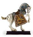 リヤドロ ORIENTAL HORSE (GLAZED) 01001943 LLADRO 日本未発売 ハイポーセリン作品 世界限定制作数:1...