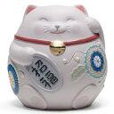リヤドロ 招き猫 ピンク Pink 01008530 LLADRO お正月飾りやインテリアに □