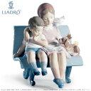 【10月限定2%オフクーポン】リヤドロ やすらぎ 少女 少年 6446 LLADRO SURROUNDED BY LOVE □