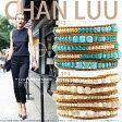 チャンルー グラジュエイト 5連ラップブレスレット CHAN LUU 【インポートファン別注アイテム】 【あす楽対応】 □