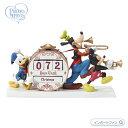 プレシャスモーメンツ ミッキー&フレンズ ミッキー ドナルド グーフィー カウントダウン カレンダー ディズニー 191702 Disney Mickey Friends Countdown Calendar, Resin Precious Moments □