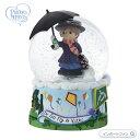 プレシャスモーメンツ メリー・ポピンズ スノードーム オルゴール ディズニー 193101 Disney Showcase Mary Poppins Musical Snow Globe Precious Moments □
