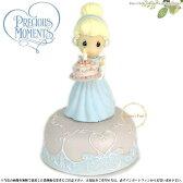 プレシャスモーメント ディズニー シンデレラ オルゴール Girl As Cinderella Musical 821002 Precious Moments 【あす楽対応】 □