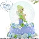 プレシャスモーメンツ ティンカーベル ピーターパン スノードーム Tinker Bell Sitting On A Spool - Musical Waterball 931003 ディズニー Precious Moments Tinker Bell 【ポイント最大35倍!お買物マラソン】