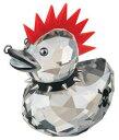 *スワロフスキー Swarovski ハッピーダック パンクダック Happy Duck  Punk Duck 1096735□