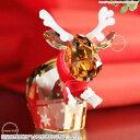 スワロフスキー 2014年 限定 トナカイ モー Mo サンタクロース クリスマス 5059025 Swarovski Reindeer Mo □