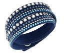 スワロフスキー スレイク デニム ブルー ロック ブレスレット 5120235 Swarovski Slake Denim Blue Rock Bracelet 【あす楽】□