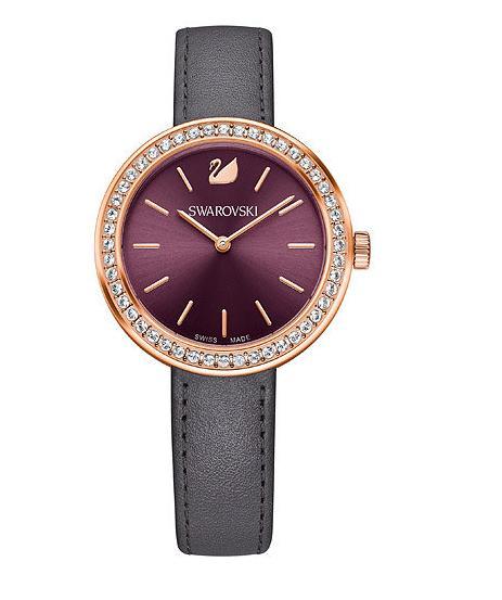 スワロフスキー デイタイム ウォッチ バーガンディー 腕時計 5213671 Swarovski Daytime Watch Burgundy□ スワロフスキー 2016年の新作!