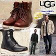 *UGG アグ メンズ HANNEN ハネン レザー ブーツ ムートンワークブーツ 3240 大きなサイズも展開(25〜34.5cm) 正規輸入品 □