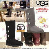 UGG アグ正規品 ベイリーボタン ブリング トリプレット ムートンブーツ 1007252 UGG Bailey Button Bling Triplet □