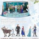 ディズニーストア海外正規品 アナと雪の女王 フィギュア プレイセット 6点 Disney ディズニー コレクションに♪ □