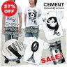 [在庫限りセール!57%OFF]デザイン Tシャツ CEMENT セメント CEMENT SPACE ODYSSEY since 1999 デザインTシャツ