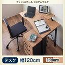 デザインシステムデスク Ebel エーベル システムデスク W120W120 システムデスク デスク単品 パソコンデスク PCデスク 事務用デスク オフィスデスク スモールオフィス 在宅用デスク