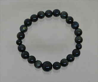Blue Tiger eye stone Bracelet 8 mm beads