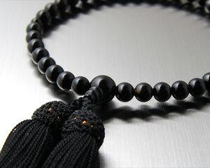 数珠オニキス女性用7ミリ玉