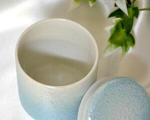 【ミニ骨壷】2寸やわらぎラスターブルー手元供養【レビュー割】