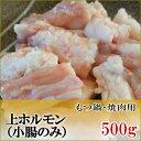国産牛 ホルモン 小腸 500g【鹿児島】【黒毛和牛】【国産...