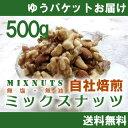 【いなだ豆/ナッツフェア/セール商品】ミックスナッツ500g(250g×2入り)【無塩・無油】【自社工場焙煎/直送!】
