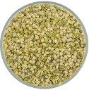 乾貨, 粉類 - グリーンムングダル 1KG【GREEN MOOG SPLIT】スプリット【緑豆ひき割りタイプ】 ムング豆