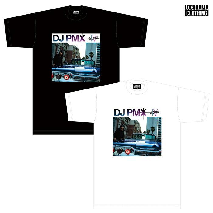 メール便対応DJPMX/THEORIGINALIVリリース記念TシャツWHITE/BLACK(M・L