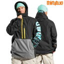 Thirtytwo サーティーツー 32 LIGHT ANORAK メンズ 20-21 スキー スノーボード ウェア ジャケット BLACK Mサイズ