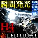 ANH/MNH10系 アルファード 前期 極 LEDヘッドライト H4 Hi/Lo 12V車用 30W 3200LM 6500K