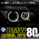 BMW 5シリーズ セダン E39 後期 イカリング LEDバルブ スモール ポジション 2個組 H6 80W LM-118 警告灯キャンセラー付き