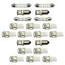 アウディ 8E A4/S4/RS4 (B7) アバント H17.2-H20.8 LED ルームランプ 【SMD LED 104発 20点セット】