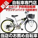子供用自転車 24インチ 6段変速付 子供用マウンテンバイク RAYSUS レイサス RY-246KD-H RAYSUS CTB-246