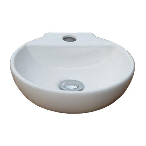 小さい陶器洗面ボウル(コンパクト・手洗い鉢・洗面...の商品画像